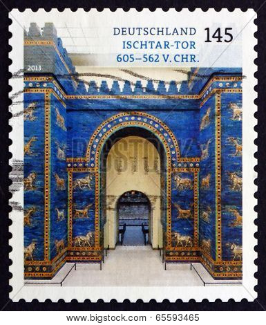 Postage Stamp Germany 2013 Ishtar Gate, Babylon