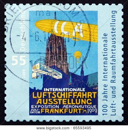 Postage Stamp Germany 2009 International Aerospace Exhibition