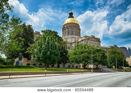 Georgia State Capitol Building In Atlanta