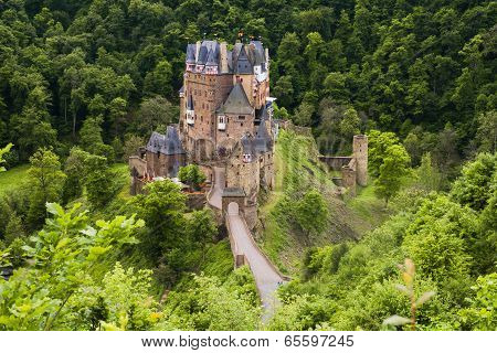Eltz Castle In Germany