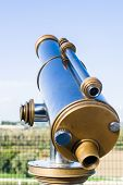 foto of avignon  - Typical France Tourist Binocular in Avignon - JPG