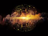 foto of quantum physics  - Elementary Particles series - JPG