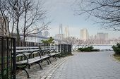 stock photo of brooklyn bridge  - Tranquil - JPG