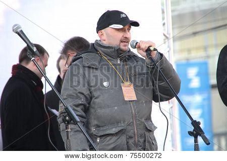 Civil Activist Vadim Korovin