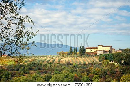 Typical Tuscan Hill