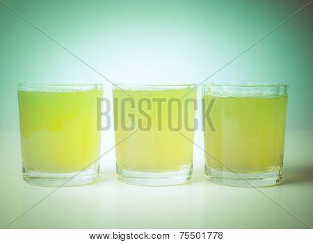 Retro Look Pineapple Juice