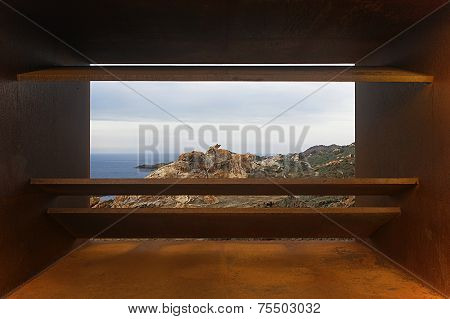 Viewpoint In Creus Cape With Mediterranean Sea. Girona