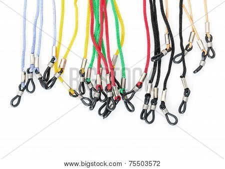Colorful Cords With A Loops For Eyeglasses