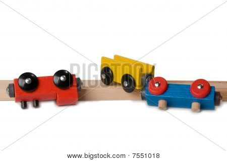 toy train accident