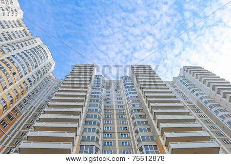 high residental building
