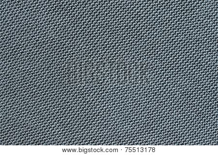 Texture Knitted Fabric Of Silvery Gray Color