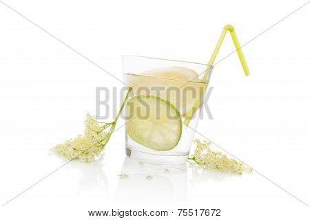 Luxurious Elderberry Lemonade.