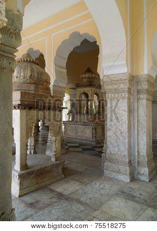 Gaitore Cenotaphs In Jaipur