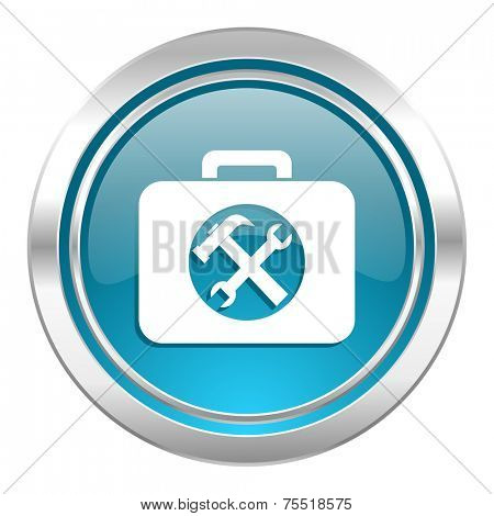 toolkit icon, service sign