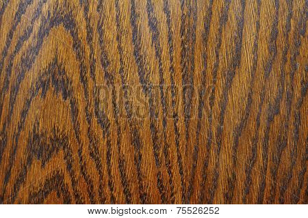 Detail Of Textured Wood Veneer