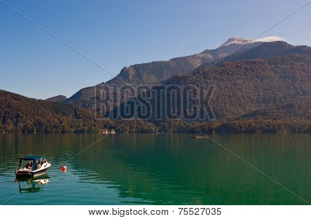 Boat On Wolfgangsee