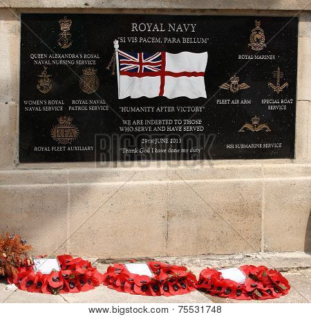 Royal Navy Memorial, Cleethorpes