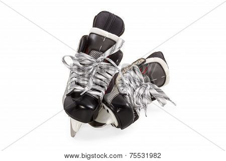 Skates Pair Isolated