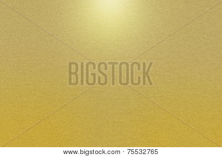 Pattern Of Gold Metal Background