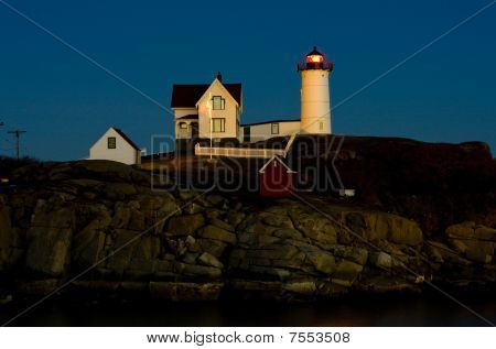 Nubble Lighthouse Cape