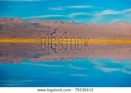 Stunning Lagoon in Atacama