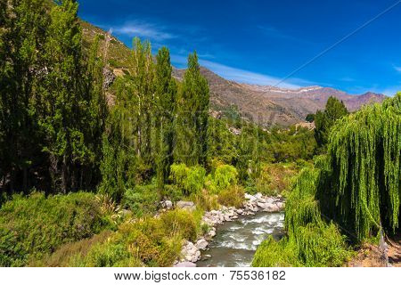 San Jose de Maipo in Chile
