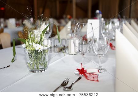 Laid Wedding Table