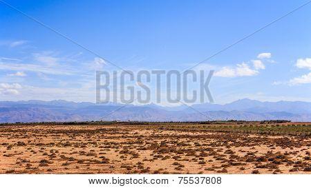 Atlas Mountains Landscape, Morroco