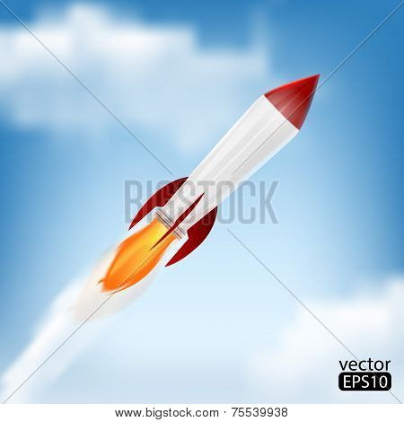 Rocket Space Ship