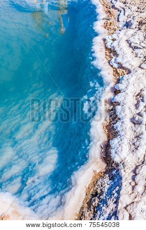 Chott El Djerid, Salt Lake In Tunisia