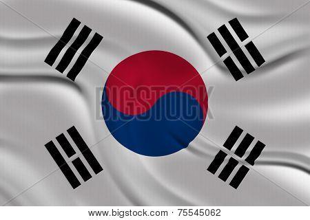 Amazing Flag of South Korea