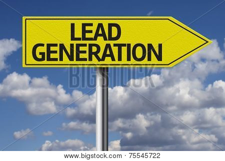 Lead Generation creative sign