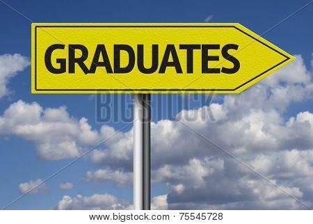 Graduates creative sign