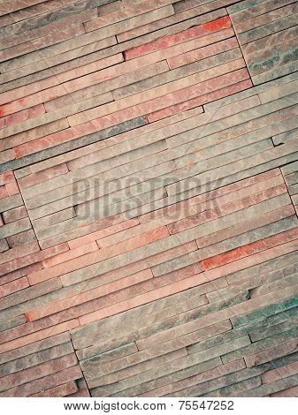 Bright Background Of Brick Stone Wall Texture Pattern