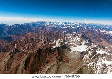 Andes Mountains , Chile , South America