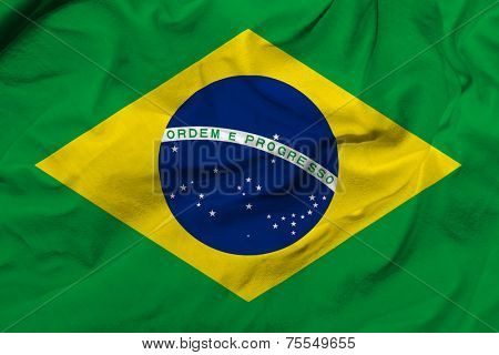Amazing Flag of Brazil, Latin America