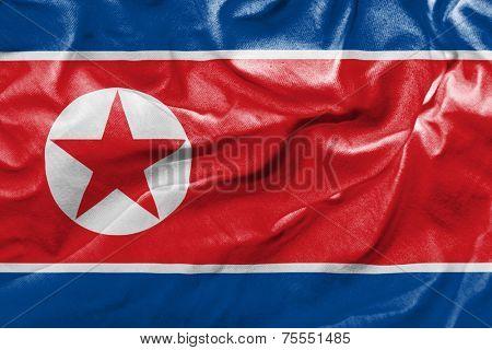 Amazing Flag of North Korea, Asia