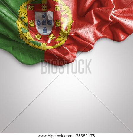 Amazing Flag of Portugal, Europe