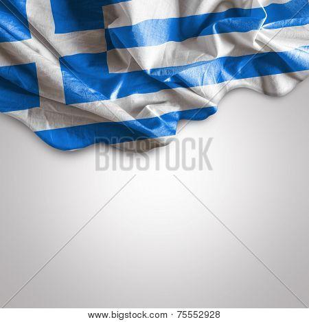 Waving flag of Greece, Europe