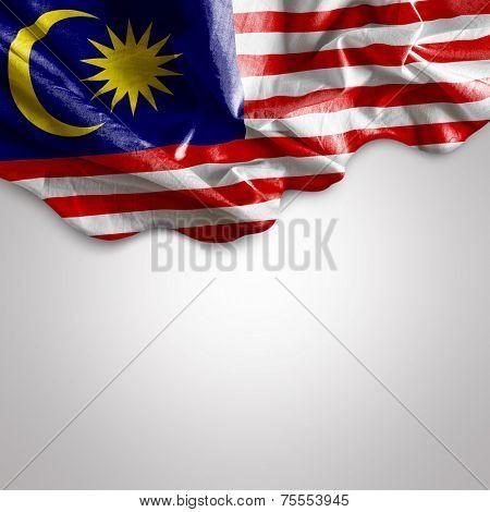 Waving flag of Malaysia, Africa