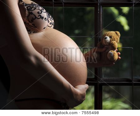 Nine Months Pregnant