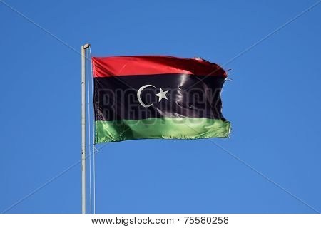 National flag of Libya