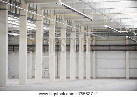 Empty New Storage Depot