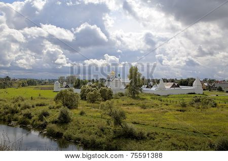 Pokrovsky Monastery. Suzdal, Golden Ring of Russia.