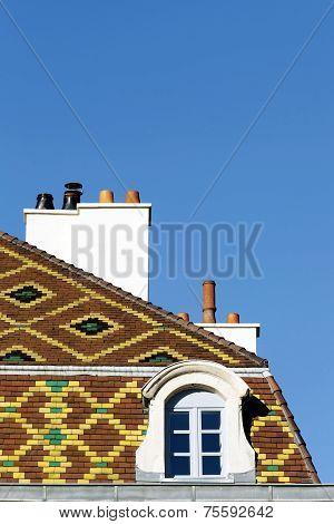 Polychrome roof in Dijon