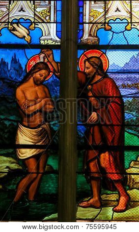 Baptism Of Jesus By Saint John