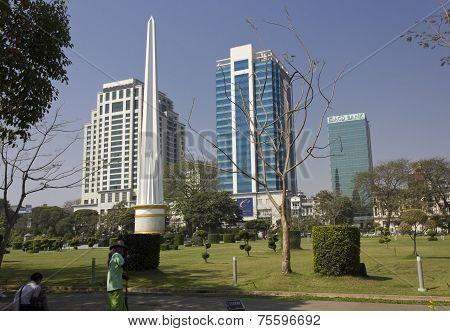 Yangon Downtown park