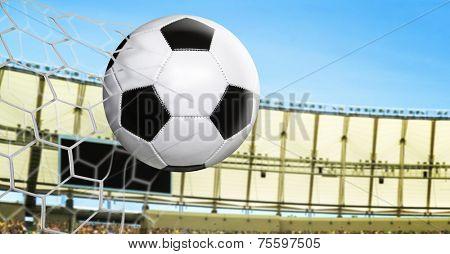 Amazing goal in the stadium