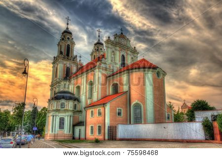 Church Of St. Catherine In Vilnius, Lithuania