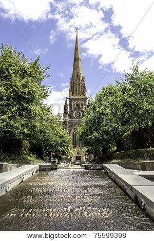 St. Patricks Cathedral in Melbourne, Australia
